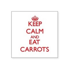 Keep calm and eat Carrots Sticker