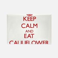 Keep calm and eat Cauliflower Magnets