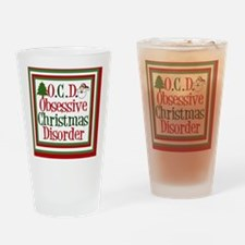 ocdchristmasking Drinking Glass