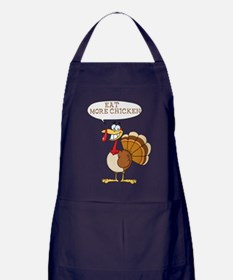 Funny Turkey Design Apron (dark)