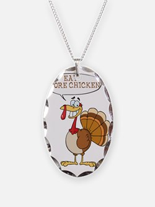 Funny Turkey Design Necklace