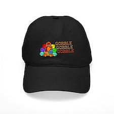 Gobble Gobble Gobble Colorful Turkey Baseball Hat