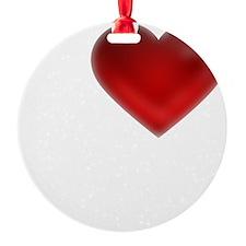 I Heart Wilson Island Ornament