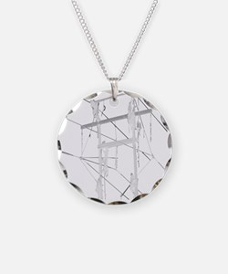 5 Climbers White Decal for D Necklace