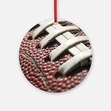 Football  2 Round Ornament