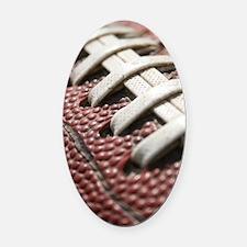 Football  2 Oval Car Magnet