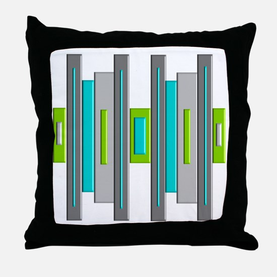 Mid Century Modern Throw Pillow