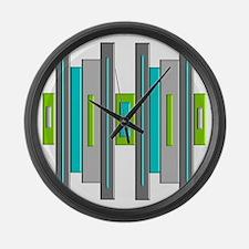 Mid Century Modern Large Wall Clock