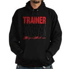 TRAINER - KISS IT - WHITE Hoodie