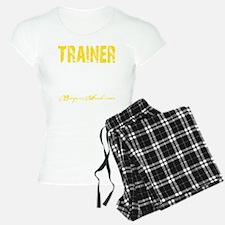 TRAINER - KISS IT - YELLOW Pajamas