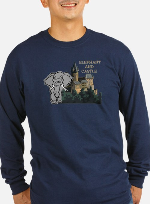 elephant and castleabc Long Sleeve T-Shirt