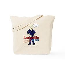 Larryville Blue DOC Officer Carter Tote Bag