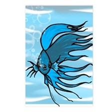 Blue Betta Postcards (Package of 8)
