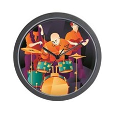 Jazz Trio Wall Clock