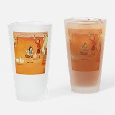 The Three Bears   Naughty Goldilock Drinking Glass
