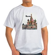 Moscow_2.5x3.5_Ornament (Oval)_StBas T-Shirt