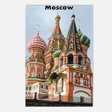 Moscow_2.41x4.42_iPhone3G Postcards (Package of 8)