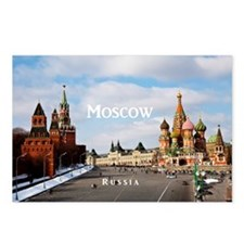 Moscow_17.44x11.56_LargeS Postcards (Package of 8)