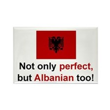 Perfect Albanian Rectangle Magnet