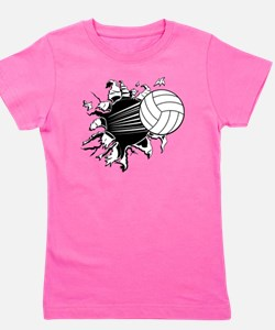 Volleyball Girl's Tee