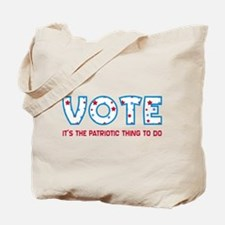 Patriotic Vote Tote Bag