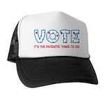 Patriotic Vote Trucker Hat
