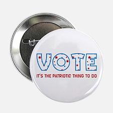 Patriotic Vote Buttons (10 pk)