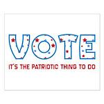 Patriotic Vote Poster (Small)
