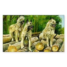 Belgian Laekenois Dog Decal