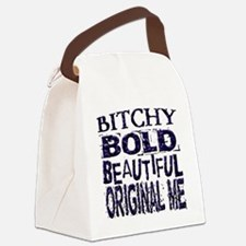 Humorous Funny Bitchy Canvas Lunch Bag