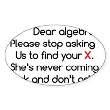 Dear Algebra Decal