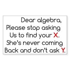 Dear Algebra Decal