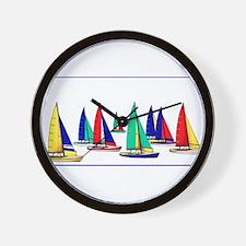 Yachting world Wall Clock