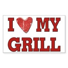 I love my Grill Decal