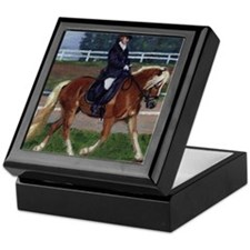 Haflinger Dressage Horse Keepsake Box