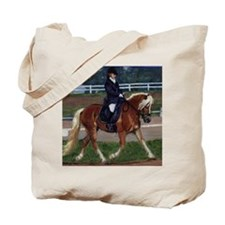 Haflinger Dressage Horse Tote Bag