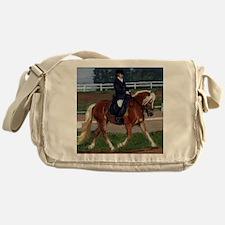 Haflinger Dressage Horse Messenger Bag
