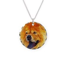 Chow Chow Dog Necklace