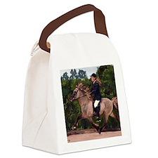 Icelandic Horse Canvas Lunch Bag