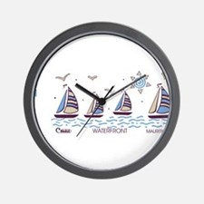 Water front Wall Clock