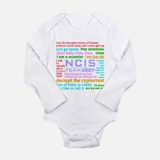 NCIS Abby Quotes Long Sleeve Infant Bodysuit