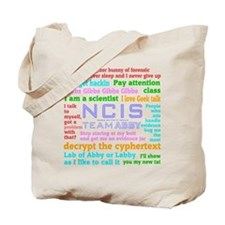 NCIS Abby Quotes Tote Bag