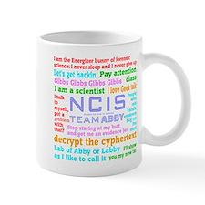 NCIS Abby Quotes Mug