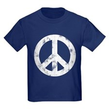 Distressed Peace Sign T