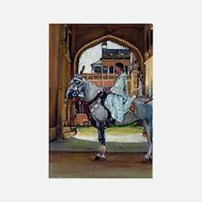 Marwari Horse Rectangle Magnet