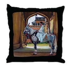 Marwari Horse Throw Pillow