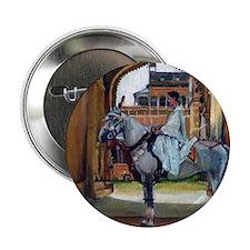 """Marwari Horse 2.25"""" Button"""