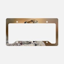 Pika Howling License Plate Holder