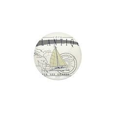 Atlantique Mini Button (10 pack)