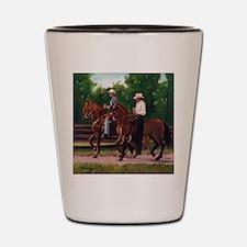 Paso Fino Horses Shot Glass